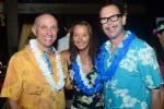 ISA Director General Bob Mignogna and Layne Beachley. Credit:ISA/ Michael Tweddle