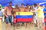 Team Ecuador. and ISA President Fernando Aguerre. Credit:ISA/ Michael Tweddle