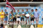 ISA President Fernando Aguerre and Team Hawaii. Credit:ISA/ Michael Tweddle