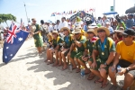 Team Australia. Credit:ISA/ Rommel Gonzales