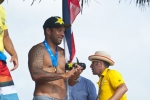 ISA President Fernando Aguerre and Sunny Garcia. Credit:ISA/ Rommel Gonzales