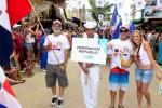 Team Dominican Republic. Credit: ISA / Michael Tweddle