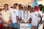 ISA President Fernando Aguerre with Team Puerto Rico. Credit: ISA / Michael Tweddle