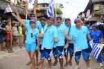 Team Uruguay. Credit: ISA / Michael Tweddle