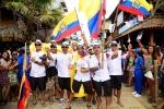 Team Ecuador. Credit: ISA / Michael Tweddle