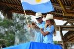 Lu Gil and Ernesto Gutierrez Conte, Team Argentina. Credit: ISA / Michael Tweddle