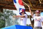 Robert Reid and Nestor Puente from Dominican Republic. Credit: ISA / Michael Tweddle