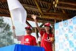 Akiko Kiyonga and Hiroki Watanabe (JAP). Credit: ISA / Michael Tweddle