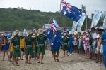 Team Australia. Credit: ISA / Rommel Gonzales
