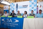 Press Conference. Credit:ISA/ Rommel Gonzales