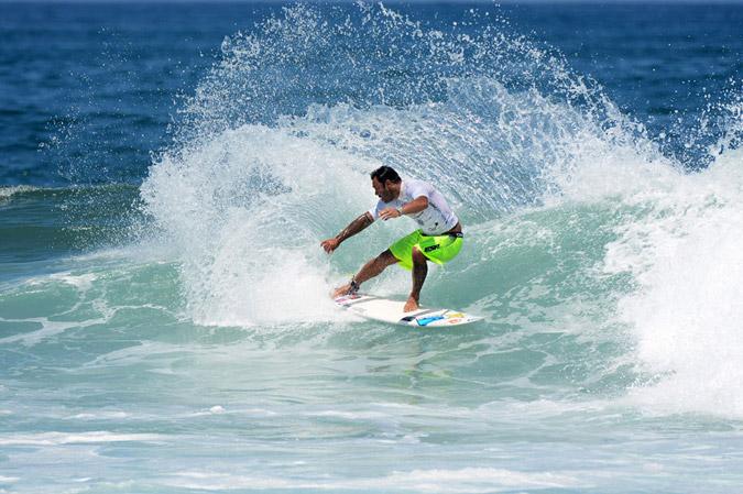 Sunny Garcia from Hawaii. Credit:ISA/ Michael Tweddle